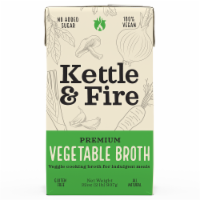 Kettle & Fire Premium Vegetable Cooking Broth
