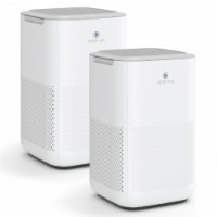 Medify Air MA-15-W2 Compact Air Purifier with H13 HEPA Filter, White (2 Pack) - 1 Unit