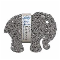 Gray Elephant Soap Saver - 1