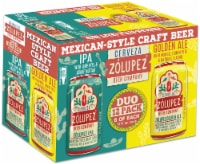 Zolupez IPA & Golden Ale Mexican-Style Craft Beer Duopack