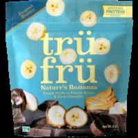 Tru Fru Nature's Bananas in Peanut Butter & Dark Chocolate - 8 oz