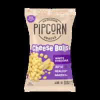 Pipcorn White Cheddar Heirloom Cheese Balls - 4.5 oz
