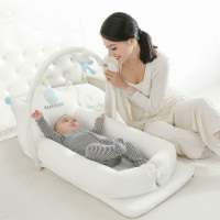 Breathable Crown Baby Lounger - 1 unit