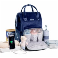 Corduroy Diaper Backpack