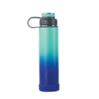 EcoVessel TriMax® Insulated Stainless Steel Water Bottle - Galactic Ocean Ombre
