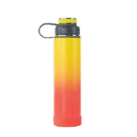EcoVessel TriMax® Insulated Stainless Steel Water Bottle - Rising Sun Ombre