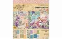 Graphic 45 Fairie Wings Paper  Pad 8x8 - 1