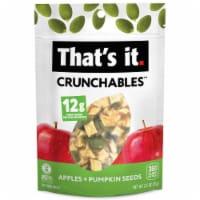That's It Crunchables Organic Apples + Pumpkin Seeds - 2.5 oz