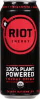 teaRIOT Cherry Watermelon Plant Based Energy Drink