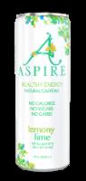 Aspire Healthy Energy Natural Caffeine - Lemony Lime - 12  fl oz