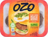 OZO Original Plant-Based Breakfast Sausage Patties - 4 ct