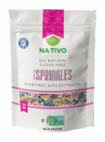Nativo Erythritol sugar free Rainbow sprinkles