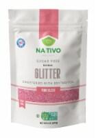 Nativo Erythritol Sugar Free Glitter Pink Blush - 1 unit