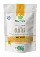 Nativo Erythritol Sugar Free Glitter Mango Tangerine - 1 unit