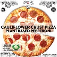 Tattooed Chef Cauliflower Crust Pepperoni Pizza - 16 oz