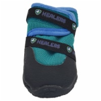 Healers Urban Walkers III Dog Booties- One Pair- TEAL-X-SMALL - X-Small/1