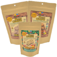 Raw Crisps Crackers- Classic Variety 6 Pack (2 Original, 2 Bell Pepper & Onion, 2 Mango)