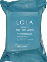 LOLA Vaginal Itch Relief Wipes - 28 ct