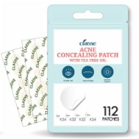 Claene Acne Pimple Concealing Patch - Invisible, Hydrocolloid, Blemish Spot 112 Count - 112 Count