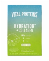 Vital Proteins Lemon Lime Hydration + Collagen Supplement Packets