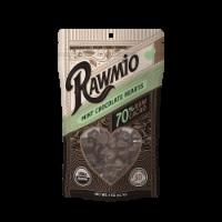 Rawmio 70% Raw Mint Chocolate Hearts - 2 oz
