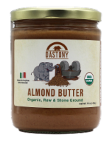 Dastony Organic Almond Butter - 16 oz
