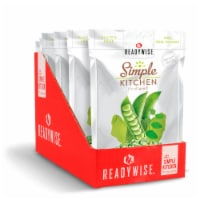 ReadyWise RWSK05-020 ReadyWise Simple Kitchen Wasabi Peas 6 Pack - 1