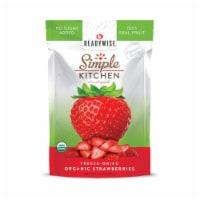 ReadyWise RWSK05-014 ReadyWise Organic FD Strawberries 6 Pack - 1