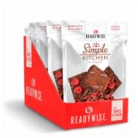 ReadyWise RWSK05-023 ReadyWise Simple Kitchen Raspberries  Brownie Bites 6 Pack - 1