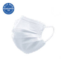Blue Bear Triple-Ply Disposable Face Masks - 50