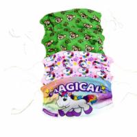 Plushible 2 Pawley Teddy Bear + 2 Poppy the Unicorn + 1 'Magical' Cloth Mask Bundle - 5 Units