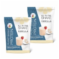 Plant Based Protein Shake - All-In-One Shake Bundle 2 Pack - 1 Pouch