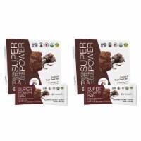 Organic Plant Based Protein Bar - Dark Chocolate - Box of 8 (Bundle 2) - 2 Boxes of 8 Bars