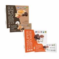 Organic Plant Based Protein Bar - Dark Chocolate - Box of 8 (Bundle 2) - 6 Boxes of 8 Bars