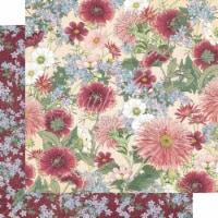 Blossom Double-Sided Cardstock 12 X12 -Flourish - 1