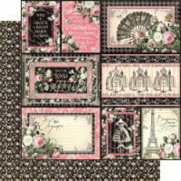Elegance Double-Sided Cardstock 12 X12 -Irresistible - 1