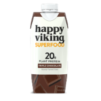 Happy Viking Triple Chocolate Plant Protein Shake - 4 ct / 11 fl oz