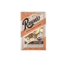 Rawmio Organic Coconut Caramel & Crushed Cashew Raw Chocolate Bar