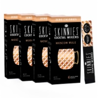 RSVP Skinnies Moscow Mule Cocktail Mixers (4 Pack)