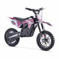 24v 500w Gazella Electric Dirt Bike Purple - 1