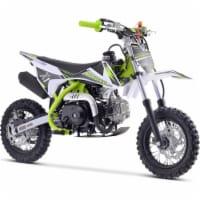 MotoTec X1 70cc 4-Stroke Gas Dirt Bike Green - 1