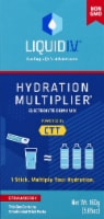 Liquid I.V. Hydration Multiplier Strawberry Electrolyte Drink Mix Sticks