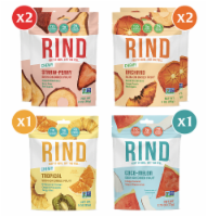 RIND Snacks Dried Fruit Variety Pack, 3oz Bags, 6 Bags Total - 3 Oz Bags, 6 Total Bags