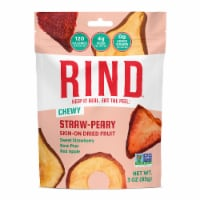 RIND Snacks Straw-Peary Dried Fruit Superfood - 3oz Bags, 6 Bags Total - 3 Oz Bags, 6 Total Bags
