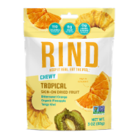 RIND Snacks Tropical Blend Dried Fruit Superfood - 3oz Bags, 6 Bags Total - 6-pack /3 ounces each