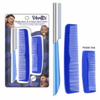 Beard Comb For Men Razor Shaping For Straight Edge Mens Brush Beards Combs Shaping Tool Groom - 1 Count