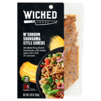 Wicked Foods M'Shroom Shawarma Style Shreds - 5.29 oz