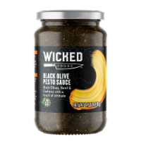 Wicked Foods Black Olive Pesto Sauce - 6.7 oz