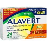 Alavert Citrus Burst Non-Drowsy Antihistamine Tablets 10mg