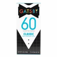 Gatsby Classic Milk Chocolate Bar - 2.8 oz